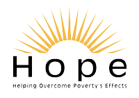Helping Overcome Poverty's Effects Logo